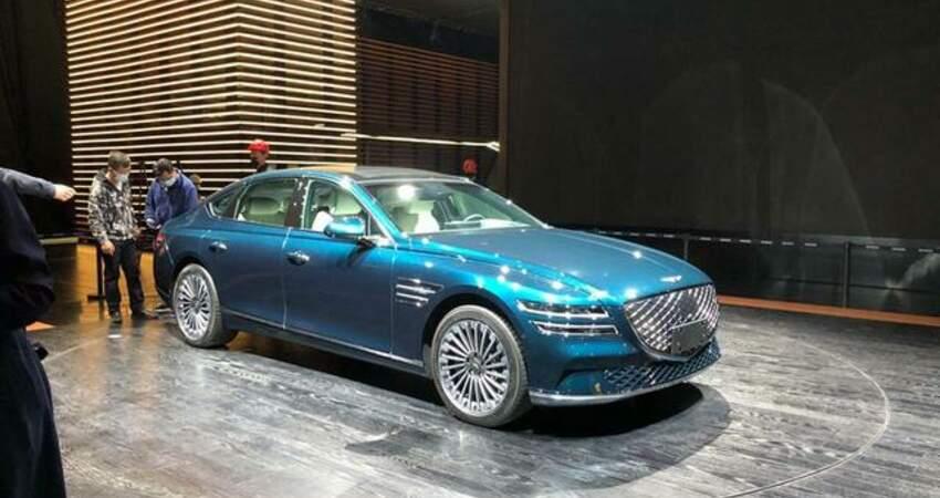 2021上海車展:捷尼賽思G80純電版車型亮相
