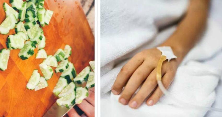 4歲男童10天換血7次,竟是半根生黃瓜惹的禍?入夏後,別再這樣吃蔬菜水果了