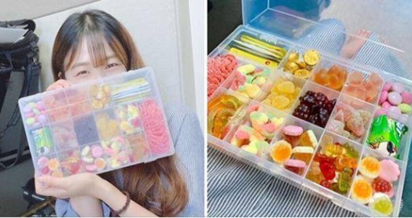 韓國歐巴流行「寵女友大法」超聰明 自製甜美可愛「糖果飯盒」收到100%開心