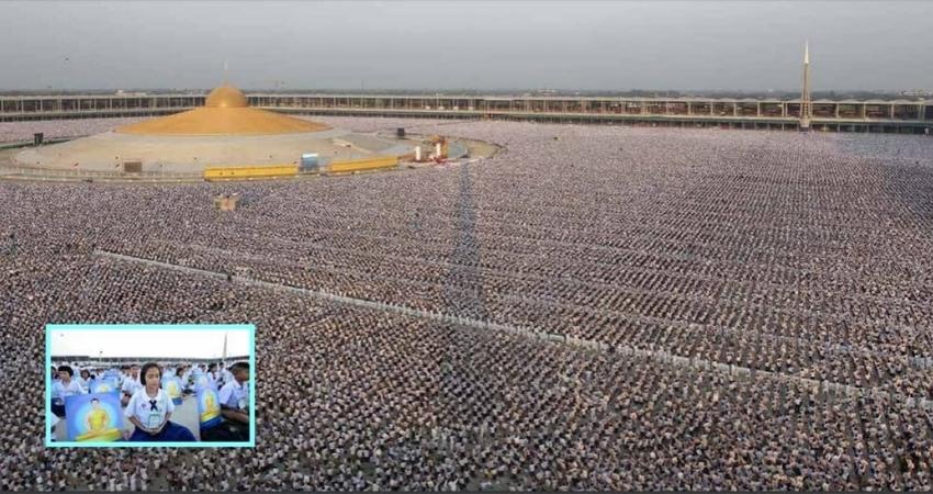 「100萬名小孩同時打坐」畫面壯觀 泰寺院:可以改變世界的力量