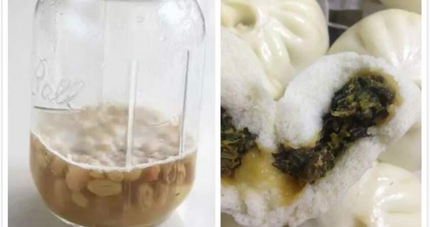 自製天然酵母,做1次可以用多次,用來包包子更白胖