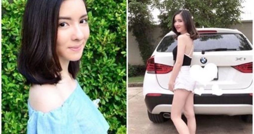 血染車門…20歲女星開車自撞慘死