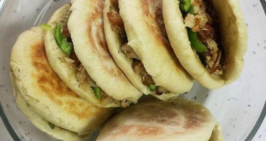 「美食」家庭版肉夾饃做法,外酥里嫩,鮮嫩多汁,比外賣好吃10倍