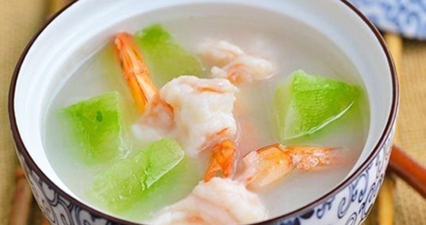 蝦仁冬瓜湯,好吃又簡便的家常菜