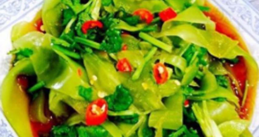 7道爽口家常菜,做法簡單,煮熟拌勻就能吃