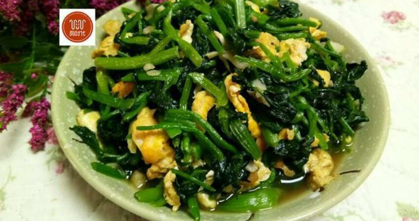 春天就要吃綠色菜,口味清淡營養高,老人小孩都能吃!