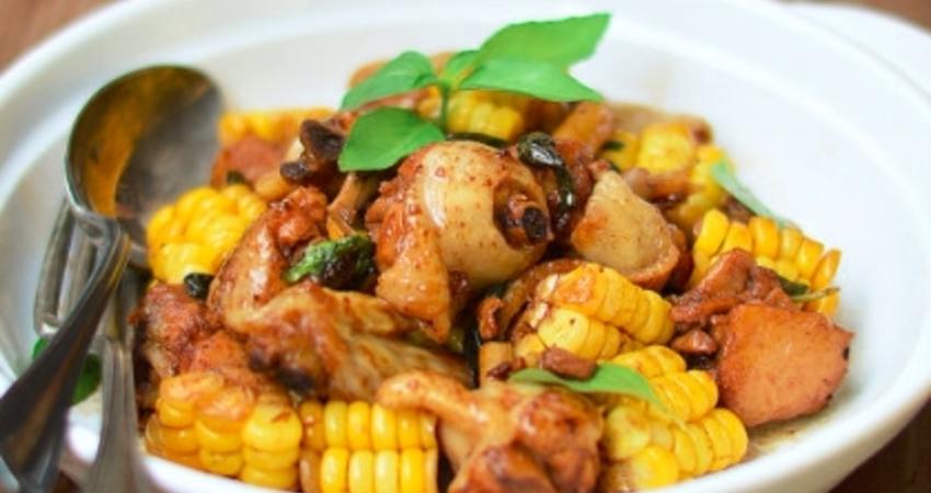 教你自製美味的三杯雞,雞肉加它一起炖,味道鮮極了,健康又營養