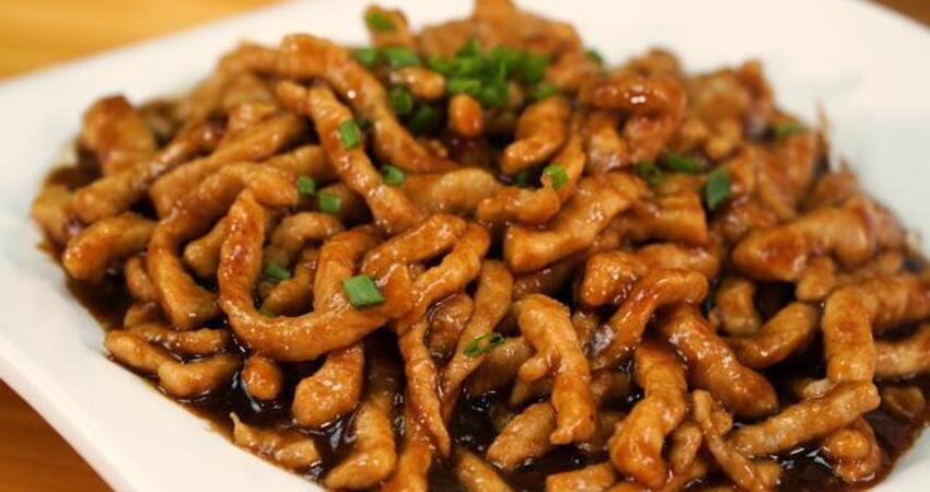 18種肉絲的做法,圓子廚房教你秘製做法,好吃不難做,開胃又下飯