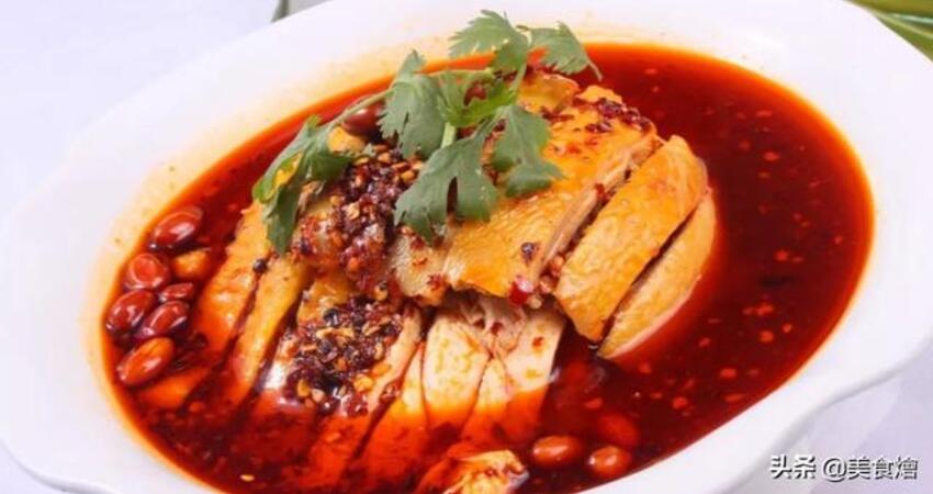 口水雞,附秘制口水汁詳細做法,真正的一菜7味:麻辣酸甜咸鮮香