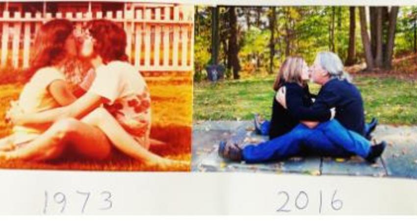 25張證明「外表一直在變,但心永遠不變」的以前VS現在感人照片。#11 你已經在未來世界!