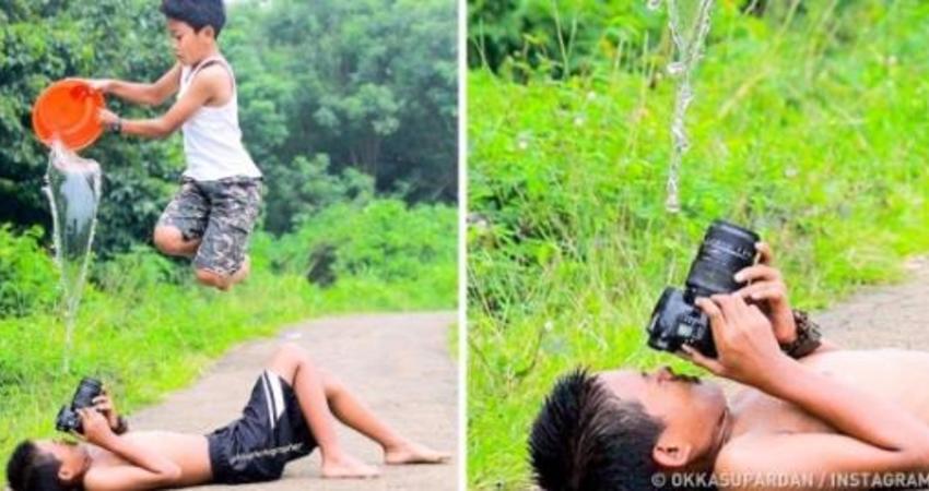 16個「想盡辦法就只是為了拍一張美照」的真實例子